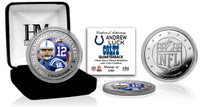 Andrew Luck Silver Color Coin