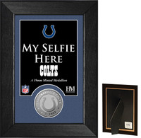 Indianapolis Colts Selfie Minted Coin Mini Mint