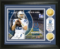 Andrew Luck Gold Coin Photo Mint