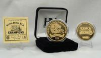 Super BowlxLI 24KT Gold Champions Coin