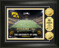 University of Iowa Stadium Gold Coin Photo Mint