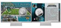 Jacksonville Jaguars Silver Coin Card