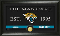 Jacksonville Jaguars Man Cave Bronze Coin Panoramic Photo Mint