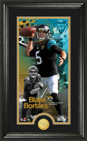 Blake Bortles Supreme Bronze Coin Panoramic Photo Mint