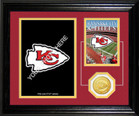 Kansas City Chiefs Framed Memories Desktop Photo Mint