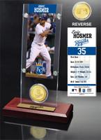 Eric Hosmer Ticket & Bronze Coin Acrylic Desk Top
