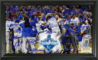 "Kansas City Royals 2015 World Series Champions ""Celebration"" Signature Field"