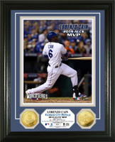 Kansas City Royals 2014 ALCS MVP Gold Coin Photo Mint