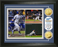 Alex Gordon Game for the Ages Gold Coin Photo Mint