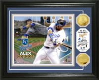 Alex Gordon Gold Coin Photo Mint