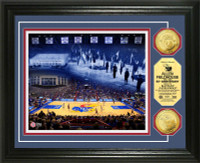 Allen Field House 60th Anniversary Gold Coin Photo Mint