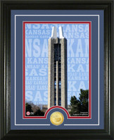 University of Kansas Campus Traditions Bronze Coin Photo Mint