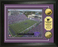 Bill Snyder Family Stadium 24KT Gold Coin Photomint
