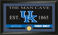 University of Kentucky Man Cave Bronze Coin Panoramic Photo Mint