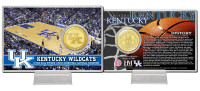 University of Kentucky Basketball Bronze Coin Card