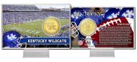 University of Kentucky Bronze Coin Card