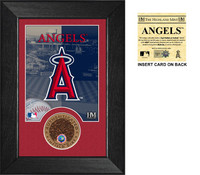 Los Angeles Angels Infield Dirt Coin Mini Mint