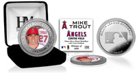 Mike Trout Silver Color Coin