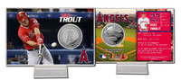 Mike Trout Silver Coin Card