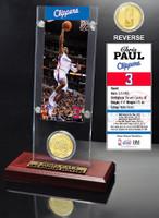 Chris Paul Ticket and Bronze Coin Desktop Acrylic