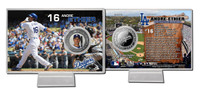 Andre Ethier Silver Plate Coin Card