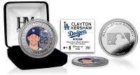 Clayton Kershaw Silver Color Coin