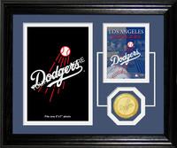Los Angeles Dodgers Fan Memories Photo Mint