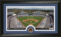Los Angeles Dodgers Infield Dirt Coin Panoramic Photo Mint