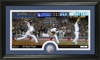 Clayton Kershaw No-Hitter Minted Coin Panoramic Photo Mint