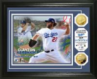 Clayton Kershaw 2014 NL MVP Gold Coin Photo Mint