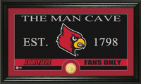 University of Louisville Man Cave Bronze Coin Panoramic Photo Mint