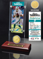 Ryan Tannehill Ticket & Bronze Coin Acrylic Desk Top