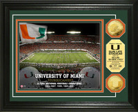 University of Miami Gold Coin Photo Mint