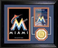 Miami Marlins Fan Memories Photo Mint