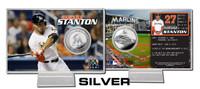 Giancarlo Stanton Silver Coin Card