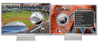 Marlins Park Silver Coin Card