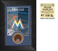 Miami Marlins Infield Dirt Coin Mini Mint