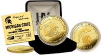 Michigan State 6 -Time National Champions Gold Coin