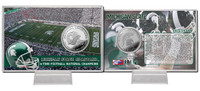 Michigan State University 6-Time National Champions Minted Coin Card