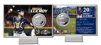 Jonathan Lucroy Silver Coin Card