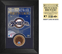 Milwaukee Brewers Infield Dirt Coin Mini Mint