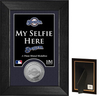 Milwaukee Brewers Selfie Minted Coin Mini Mint
