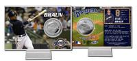 Ryan Braun Silver Coin Card