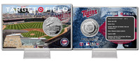 Target Field Silver Coin Card