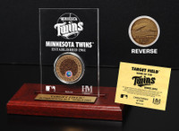 Target Field Infield Dirt Coin Etched Acrylic