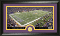 Minnesota Vikings Stadium Bronze Coin Panoramic Photo Mint