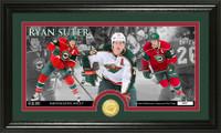 Ryan Suter Bronze Coin Panoramic Photo Mint