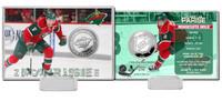 Zack Parise Silver Coin Card