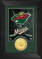 Minnesota Wild Bronze Coin Mini Mint