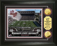 Mississippi State University Stadium Gold Coin Photo Mint
